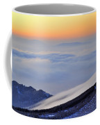 Mountains Clouds At Sunset Coffee Mug