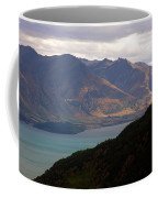 Mountains Meet Lake #4 Coffee Mug