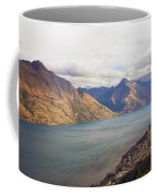 Mountains Meet Lake #5 Coffee Mug