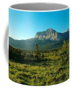 Mountains Of Many Glacier Coffee Mug