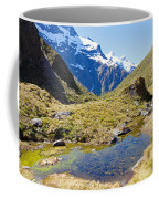 Mountains Of New Zealand Coffee Mug