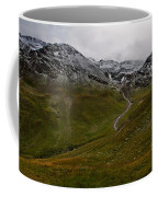 Mountainscape With Snow Coffee Mug