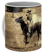 Mounted Shooting Coffee Mug