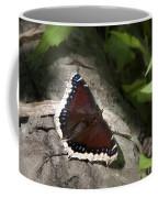 Mourning Cloak Butterfly Coffee Mug