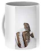 Mourning Dove In Snow Coffee Mug