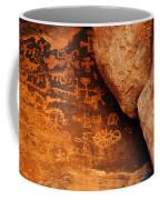 Mouse's Tank Petroglyph Canyon Coffee Mug