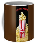 Movie Night Pop Corn Coffee Mug