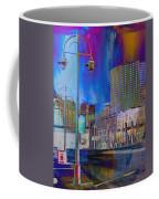 Mpm And Lamp Post Vivid Abstract Coffee Mug