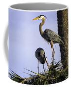 Mr. And Mrs. Heron Coffee Mug