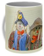 Mr And Mrs Scarecrow Coffee Mug