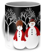 Mr And Mrs Snow 1 Coffee Mug