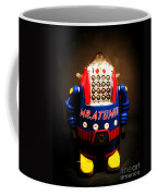 Mr. Atomic Tin Robot Coffee Mug by Edward Fielding
