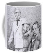 Mr Chicken And Mr Dickens Coffee Mug