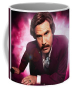 Mr. Ron Mr. Ron Burgundy From Anchorman Coffee Mug
