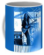 Mrdog #4 In Blue Coffee Mug