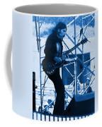 Mrdog #63 Enhanced In Blue Coffee Mug
