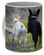 Ms. Quiggly And Buddy French Bulldogs Coffee Mug