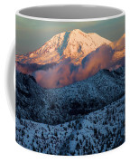 Mt Adams Sunset Coffee Mug