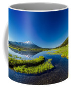 Mt. Bachelor Reflection And Forest Coffee Mug