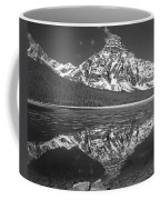 1m3641-bw-mt. Chephren Reflect  Coffee Mug