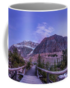 Mt. Edith Cavell Trail At Twilight Coffee Mug