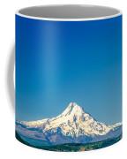 Mt. Hood And Blue Sky Coffee Mug