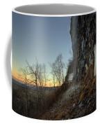 Mt Mckay Spring Waterfall Coffee Mug