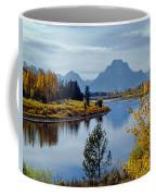 1m9208-mt. Moran And The Snake River, Wy Coffee Mug