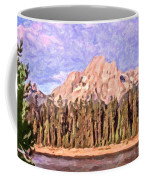 Mt Moran From Colter Bay Coffee Mug