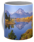 1m9234-mt. Moran Reflection, Wy Coffee Mug