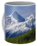 1m3627-mt. Outram And Mt. Forbes Coffee Mug