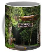 Mt Rainier Gateway Coffee Mug