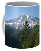 Mt. Rainier In Summer Coffee Mug
