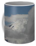 Mt. Rainier In The Clouds Coffee Mug