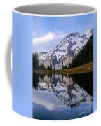 Mt. Rainier On Aurora Lake Coffee Mug