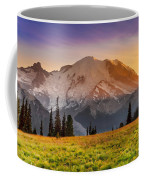 Mt. Rainier Sunset 2 Coffee Mug
