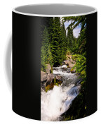 Mt. Rainier Waterfall Coffee Mug