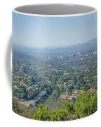 Mt. Soledad - View To The North Coffee Mug