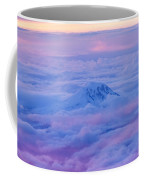 Above The Clouds At Sunset Coffee Mug