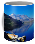 Mt St Helens Reflecting Into Spirit Lake   Coffee Mug