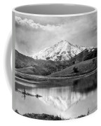 Mt. Tamalpais In Snow Coffee Mug