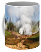 Mud Volcano And Sulphur Caldron  Coffee Mug