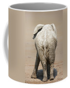 Muddy Elephant With Funny Stance  Coffee Mug