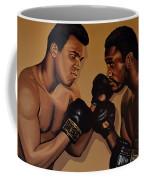 Muhammad Ali And Joe Frazier Coffee Mug