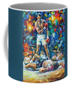 Muhammad Ali Coffee Mug by Leonid Afremov