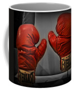 Muhammad Ali's Boxing Gloves Coffee Mug by Bill Cannon
