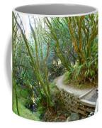 Curve In The Dipsea Coffee Mug