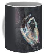 Muladhara - Root 'blue Hand' Chakra Mudra Coffee Mug