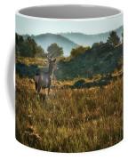 Mule Deer At De Weese Reservoir Coffee Mug