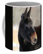 Mule Portrait 2 Coffee Mug